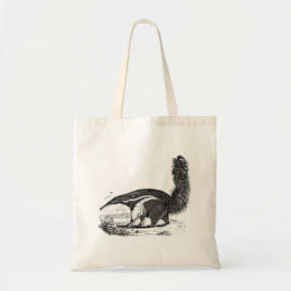Vintage 1800s Aardvark Retro Ant Eater Template Tote Bag