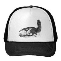 Vintage 1800s Aardvark Retro Ant Eater Template Trucker Hat