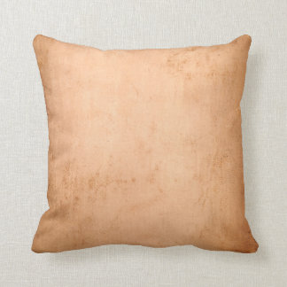 Vintage 1800s Antique Book Leather Tan Background Throw Pillow
