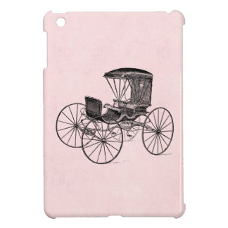 Vintage 1800s Carriage Horse-Drawn Antique Buggy Cover For The iPad Mini