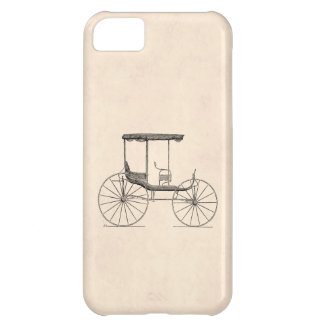 Vintage 1800s Carriage Horse-Drawn Antique Buggy iPhone 5C Cover