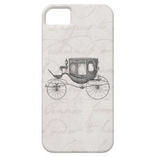 Vintage 1800s Carriage Horse Drawn Antique Buggy iPhone SE/5/5s Case