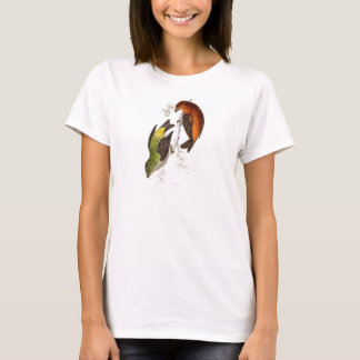 Vintage 1800s Crossbill Bird Illustration Birds T-Shirt