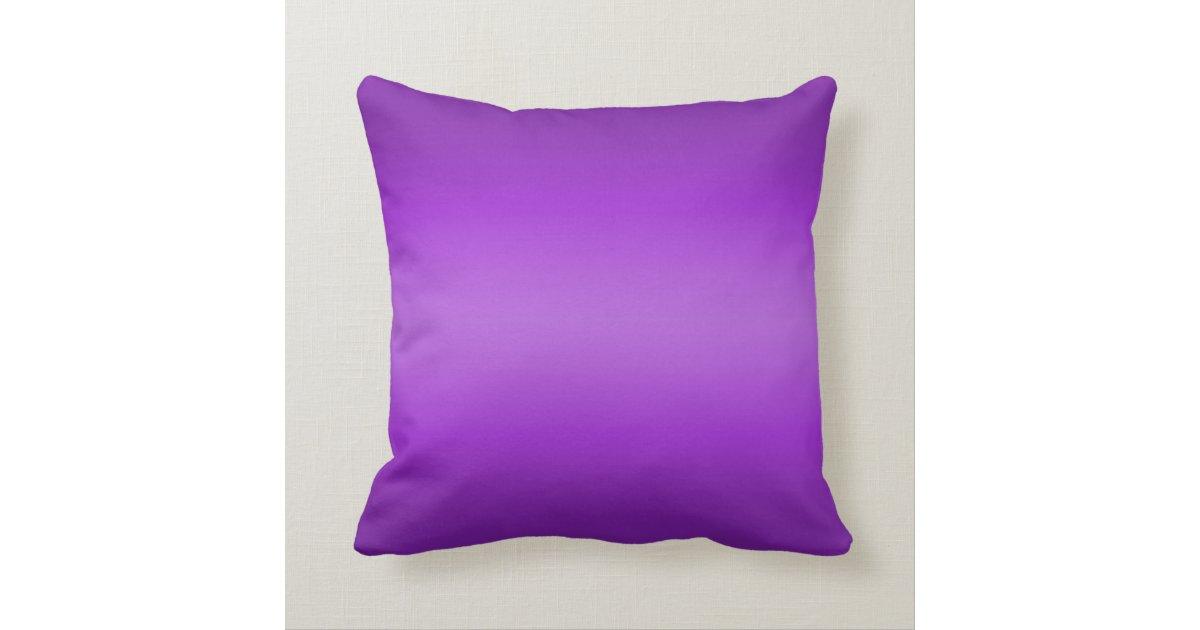 Vintage 1800s Dark Purple Butterfly on Purple Throw Pillow Zazzle