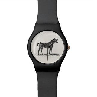 Vintage 1800s English Race Horse - Racing Horses Wristwatch