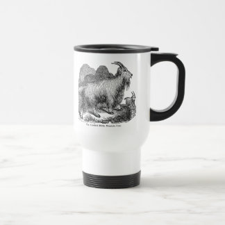 Vintage 1800s Goats American Rocky Mountain Goat Coffee Mug