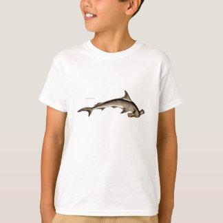 Vintage 1800s Hammerhead Shark Old Hammer Head T-Shirt