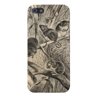 Vintage 1800s Harvest Mouse Retro Mice Template iPhone SE/5/5s Cover