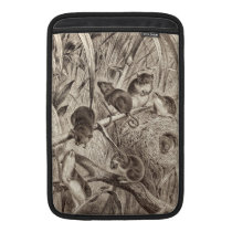 Vintage 1800s Harvest Mouse Retro Mice Template Sleeve For MacBook Air