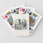 Vintage 1800s Llama Retro Llamas Alpaca Template Bicycle Card Deck