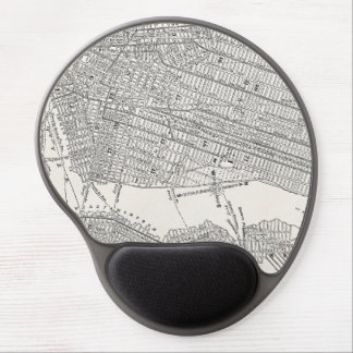 Vintage 1800s New York City Brooklyn Map NYC Maps Gel Mouse Pad