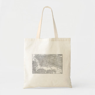 Vintage 1800s New York City Brooklyn Map NYC Maps Tote Bag