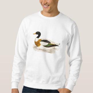 Vintage 1800s Old Drake Duck Illustration - Ducks Sweatshirt