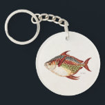 "Vintage 1800s Opah Tropical Sporting Fish Drawing Keychain<br><div class=""desc"">Customized Template For Acrylic Round Keychain - Custom Key Ring. Personalize with your own name, pattern, design, quote, monogram, or photograph. Use our cool templates, artwork, photos, graphics, and illustrations, then add names, text, quotes, and monograms to create your own key chain. Click the &quot;Customize it!&quot; button to make it...</div>"