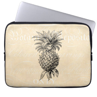 Vintage 1800s Pineapple Illustration Pineapples Computer Sleeve