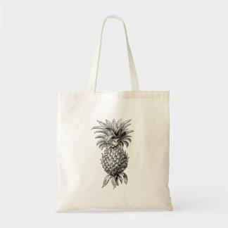 Vintage 1800s Pineapple Illustration Pineapples Tote Bag