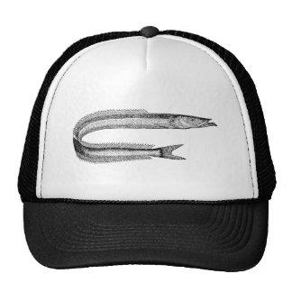 Vintage 1800s Sand Eel Antique Fish Template Blank Trucker Hat