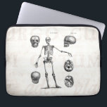 "Vintage 1800s Skeleton Antique Anatomy Skeletons Computer Sleeve<br><div class=""desc"">Customized Laptop Sleeve Neoprene 13&quot; - Custom Sleeves. Personalize with your own name, pattern, design, quote, monogram, or photograph. Use our cool templates, artwork, photos, graphics, and illustrations, then add names, text, quotes, and monograms to create your own laptop cover. Click the &quot;Customize it!&quot; button to make it personalized or...</div>"