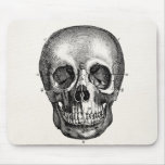 Vintage 1800s Skull Retro Skulls Skeleton Mouse Pads