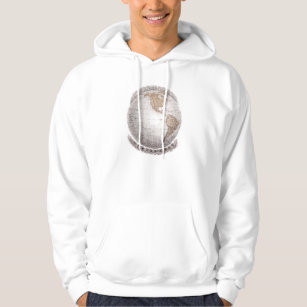 World map hoodies zazzle vintage 1800s world map western hemisphere globe hoodie gumiabroncs Image collections