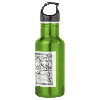 Vintage 1806 Map - Australasie et Polynesie 18oz Water Bottle