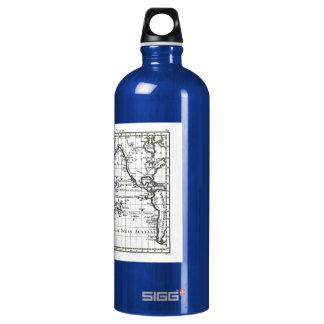 Vintage 1806 Map - Australasie et Polynesie Aluminum Water Bottle