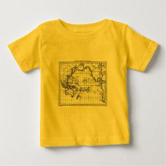 Vintage 1806 Map - Australasie et Polynesie Baby T-Shirt