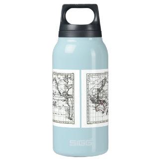 Vintage 1806 Map - Australasie et Polynesie Insulated Water Bottle
