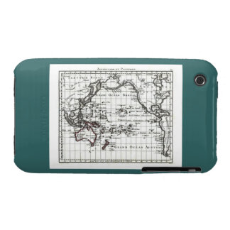 Vintage 1806 Map - Australasie et Polynesie iPhone 3 Cover