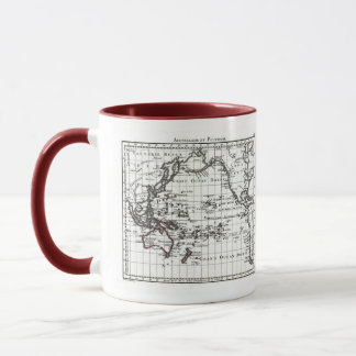 Vintage 1806 Map - Australasie et Polynesie Mug