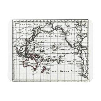 Vintage 1806 Map - Australasie et Polynesie Rectangular Photo Magnet