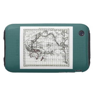 Vintage 1806 Map - Australasie et Polynesie Tough iPhone 3 Cover