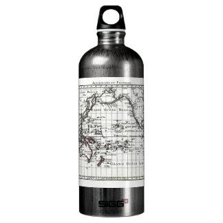 Vintage 1806 Map - Australasie et Polynesie Water Bottle