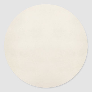 Vintage 1817 Parchment Paper Template Blank Classic Round Sticker
