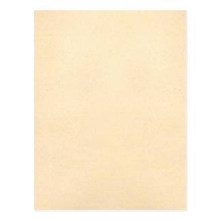 Vintage 1817 Parchment Paper Template Blank Postcard