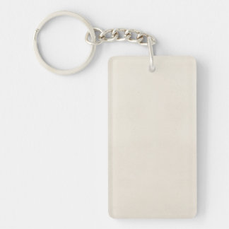 Vintage 1817 Parchment Paper Template Blank Single-Sided Rectangular Acrylic Keychain