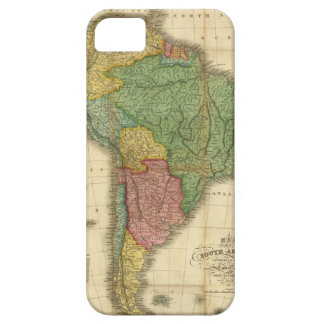 Vintage 1826 South America Map by Anthony Finley iPhone SE/5/5s Case