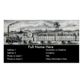 Vintage 1831 Rail Train Bookmark Double-Sided Standard Business Cards (Pack Of 100)