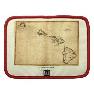 Vintage 1837 Hawaii Map -  Hawaiian Islands Planners