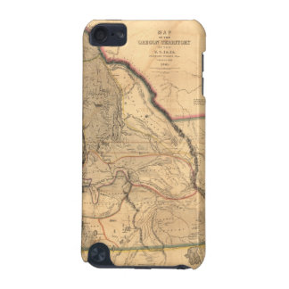 Vintage 1841 Oregon Pacific Northwest Map iPod Touch (5th Generation) Case