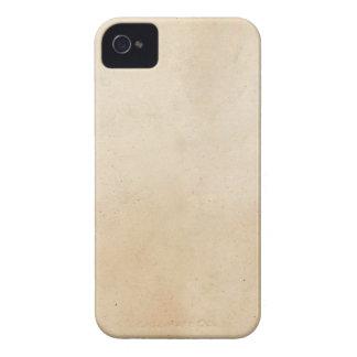 Vintage 1850 Parchment Paper Template Blank Case-Mate iPhone 4 Case