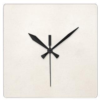 Vintage 1850 Parchment Paper Template Blank Clock