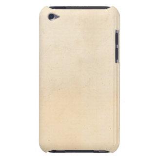 Vintage 1850 Parchment Paper Template Blank iPod Case-Mate Case