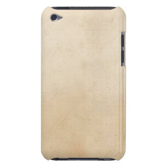 Vintage 1850 Parchment Paper Template Blank iPod Touch Case-Mate Case