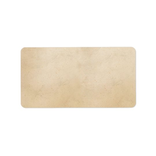 Vintage 1850 Parchment Paper Template Blank Label | Zazzle