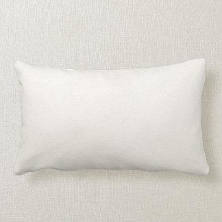 Vintage 1850 Parchment Paper Template Blank Lumbar Pillow