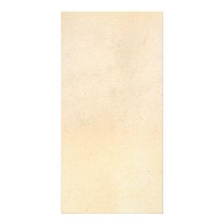 Vintage 1850 Parchment Paper Template Blank Photo Card