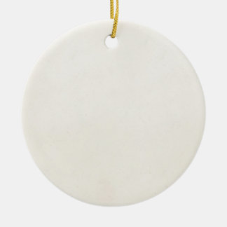Vintage 1850s Antique PaperTemplate Blank Double-Sided Ceramic Round Christmas Ornament