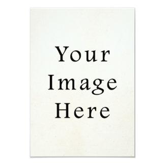 Vintage 1850s Light Parchment Paper Background 3.5x5 Paper Invitation Card