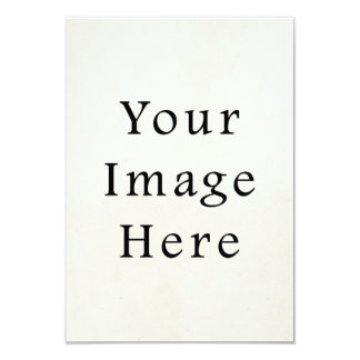 Vintage 1850s White Parchment Paper Background 3.5x5 Paper Invitation Card